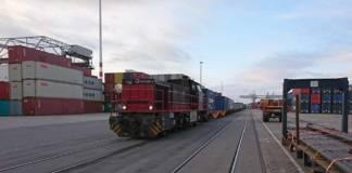 Die DeCeTe Duisburger Terminal-Gesellschaft hat auf ihrem Gelände ein zweites Gleis in Betrieb genommen