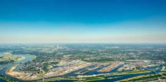 Im Duisburger Hafen wird eine LNG-Infrastruktur aufgebaut