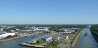 Der Hafen Lüneburg hat 2017 im vierten Jahr in Folge den Umschlag steigern können