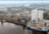 Der Hafen Oldenburg hat 2017 den Umschlag stabil halten können