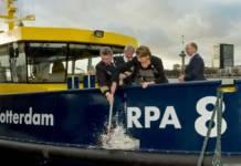 Die »RPA 8« wurde in Rotterdam getauft