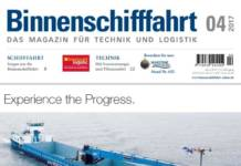 Binnenschifffahrt April 2017