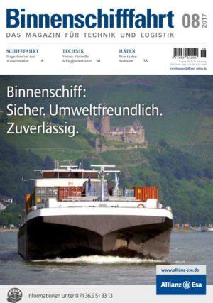 Binnenschifffahrt August 2017