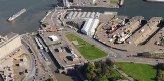 Binnenschiffer können im Hafen Antwerpen von Mitte Februar bis Ende Februar die Royers-Schleuse nicht nutzen