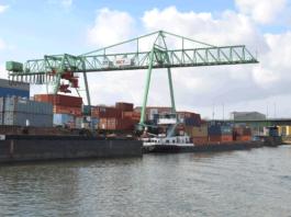 Der Hafen Mannheim hat im Januar 2018 im Vergleich zum Vorjahresmonat beim wasserseitigen Güterumschlag zulegen können