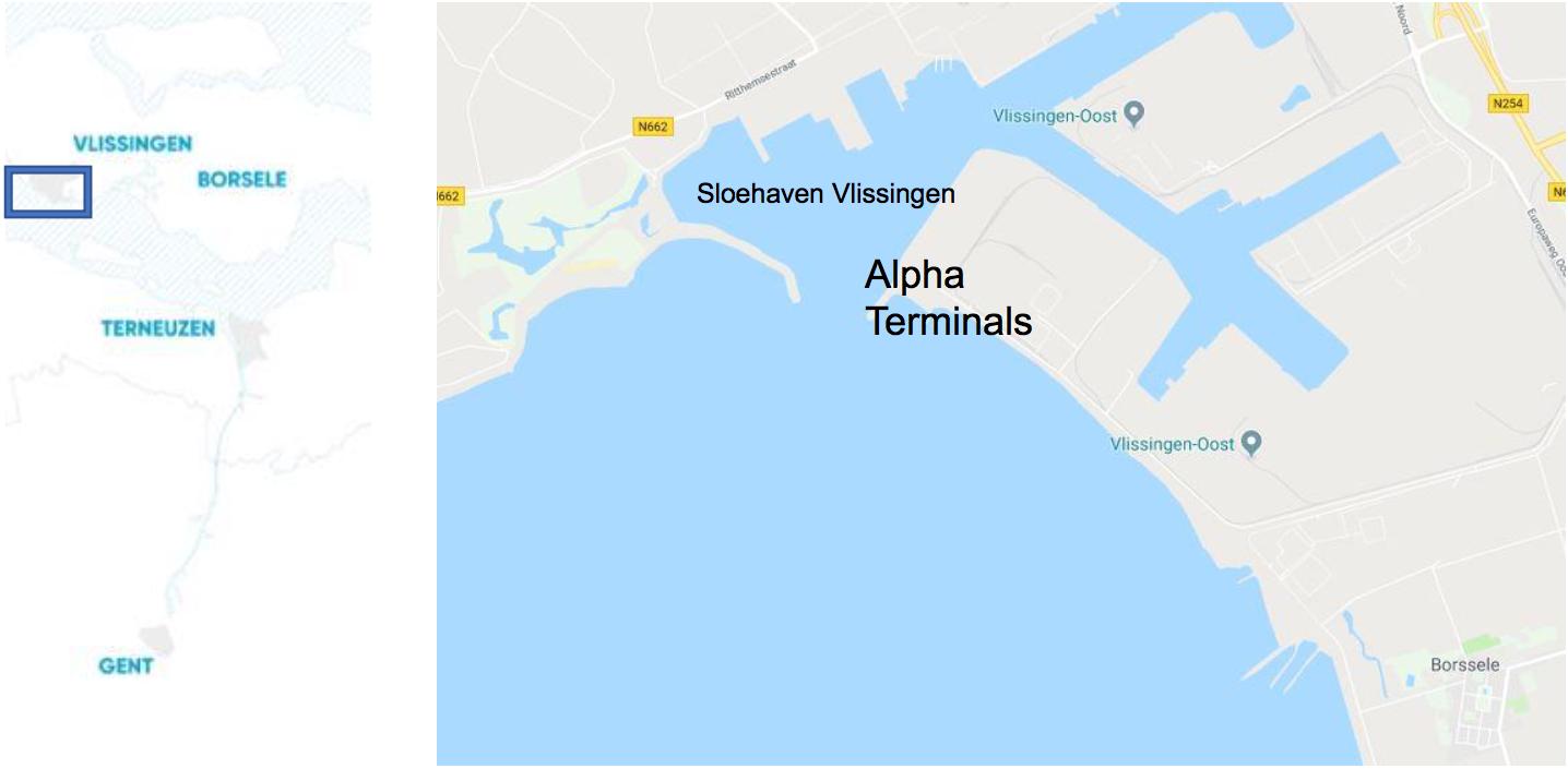 alpha terminals vlissingen