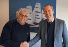 Steef E.F. Staal (l.) und Wim Knoester freuen sich auf eine Fortsetzung der Zusammenarbeit