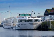 Die »Swiss Tiara« läutete die diesjährige Flusskreuzfahrtsaison bei North Sea Port ein