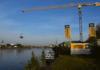Ein neuer Kran eröffnet Zeppelin in Duisburg neue Möglichkeiten