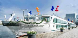 Die bei De Hoop gebaute »Amadeus Queen« ist das neue Flaggschiff von Lüftner Cruises