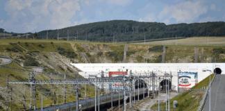 Der Eurotunnel verbindet Calais mit Dover