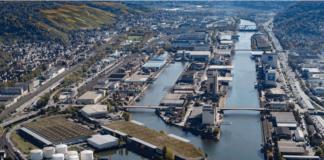Der Hafen Stuttgart erstreckt sich über ein Areal von etwa 100 ha