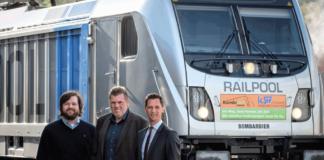 Die KSW testet eine neue E-Lok von Bombardier