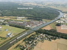 Standort des RegioPort Weser