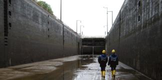 Für unfangreiche Instandsetzungsarbeiten müssen die Schleusen an Main, Main-Donau-Kanal und Donau trockengelegt werden