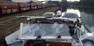 Unfall, tankschiff, Rhein-Herne-Kanal