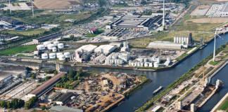 Der Magdeburger Hafen