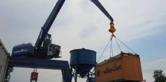 Container Umschlag Torgau