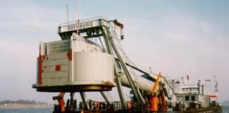 Tauchglockenschiff Carl Straat