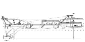 Taucherglockenschiff Plan