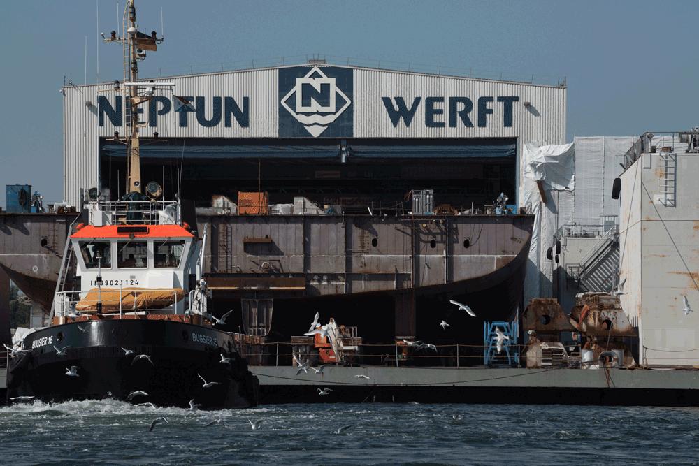Neptun, Ossevorth