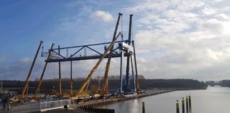Minden, Regioport, Containerterminal