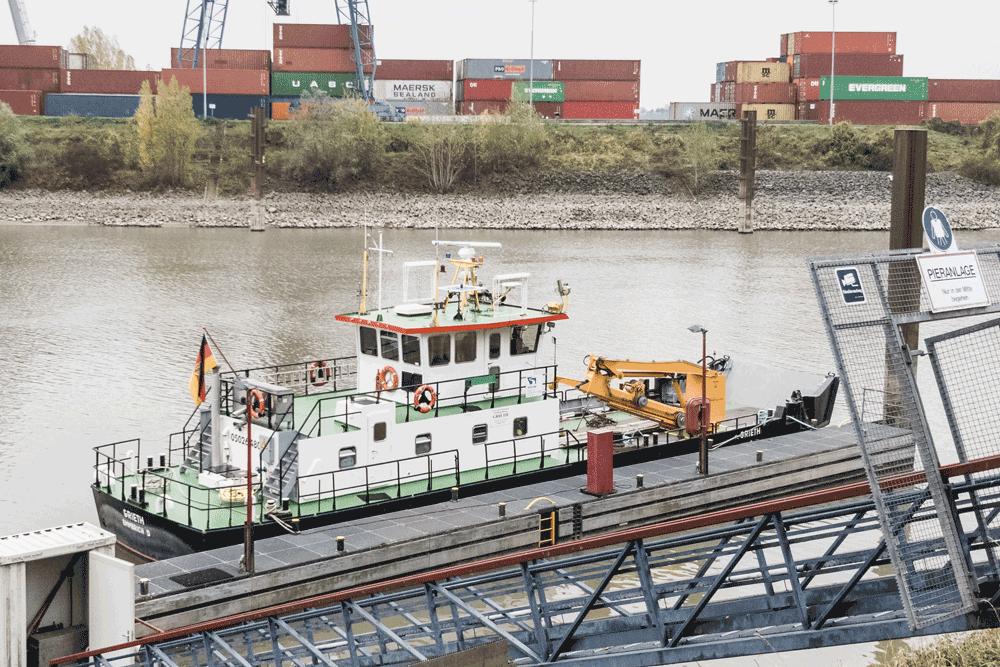 Grieth, Serviceschiff, WSA