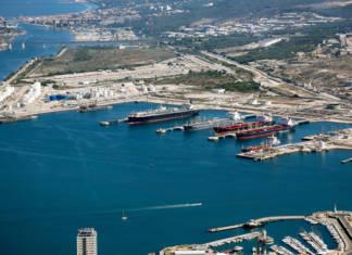 Hafen Marseille Fos