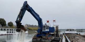 Der Rhein bei Basel hat nun wieder die angestrebte Mindesttiefe