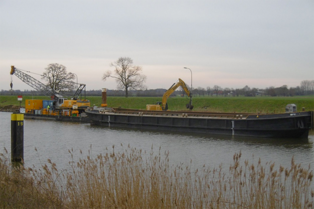 Wasserbau Schleuse Langwedel Mittelweser