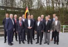 Der BDB-Vorstand um Präsident MArtin Staats (vordere Reihe 1. v.l.)