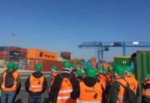 Am »Tag der Logistik« informierten sich rund 80 Interessierte über die Abläufe im Havenverbund
