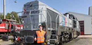 Drei Vossloh-Loks und zwei E-Lokomotiven verstärken künftig die Fahrzeugflotte von RheinCargo