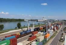 Das WienCont Containerterminal