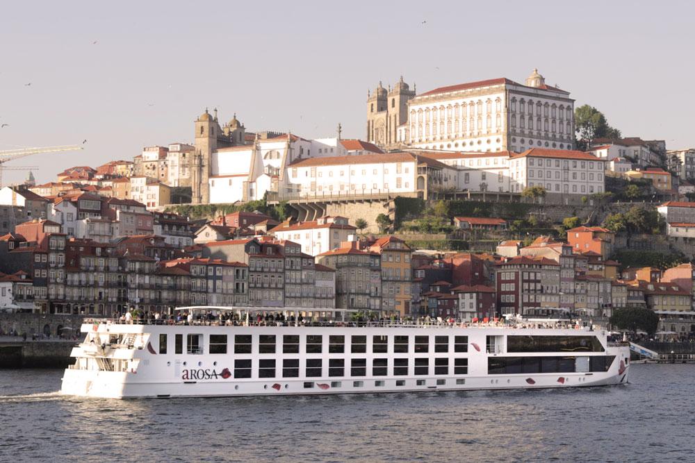A-Rosa, Taufe, Alva, Douro, Porto