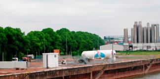 LNG Tankstelle Koeln Niehl Rhein Cargo