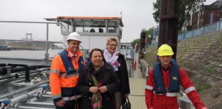 NRW-Umweltminiterin Heinen-Esser beim VBW