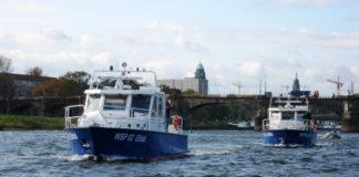 Polizei Wasserschutzpolizei Sachsen Streifenboote