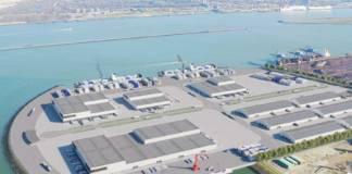 An der Zufahrt zur Maasvlakte in Rotterdam entsteht ein neues Gelände für den Tiefkühlumschlag