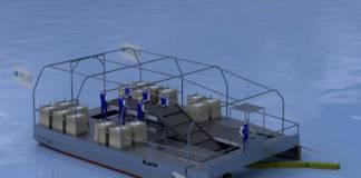 Die neue »Seekuh« basiert auf einem überarbeiteten Konzept für das Sammeln von Plastikmüll in den Meeren