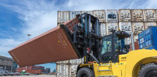 Hyster Container Checker Front Spreader