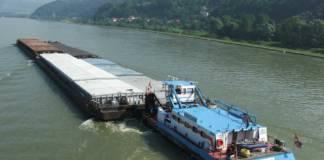 Das Schubschiff »Wodan« zähllt zur Flotte des Bayerischen Lloyd