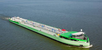 Green rhine Shell LNG - Peters Shipyard