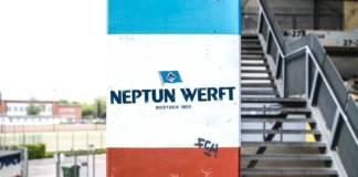 Die Neptun Werft unterstützt in dieser Saison den Fußball-Drittligisten Hansa Rostock