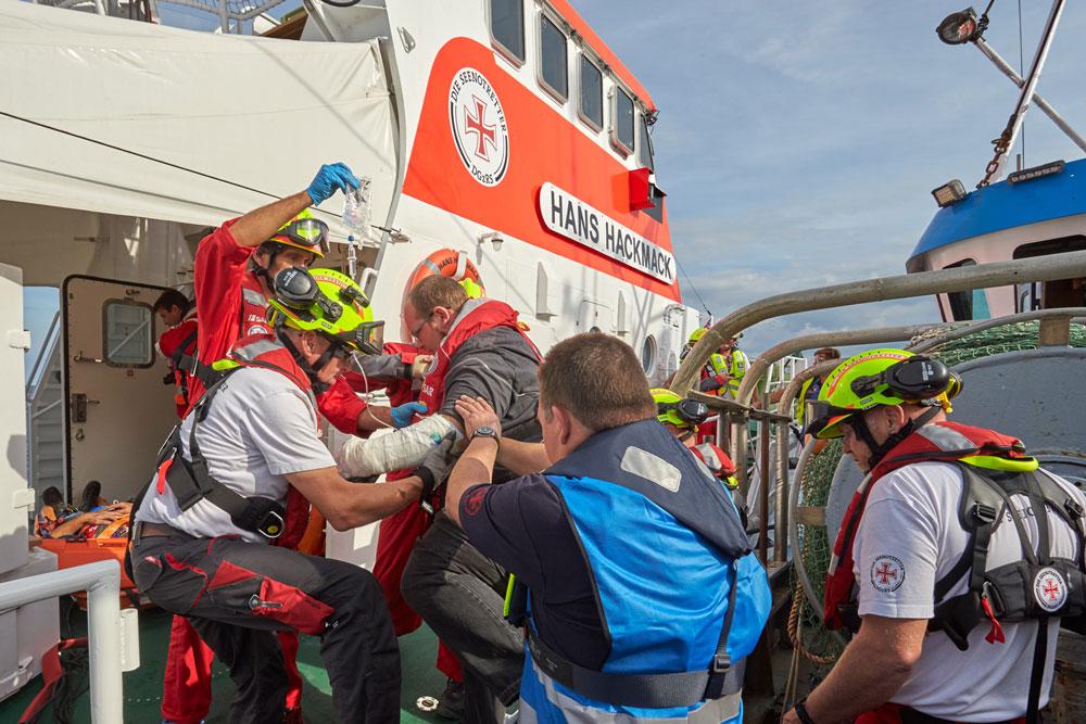 DGzRS, Barthel, Trainingsboot