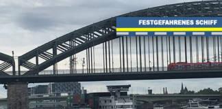 Festgefahrenes GMS Köln