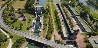 Die Schleuse Henrichenburg ist von herausragender Bedeutung für den Hafen Dortmund