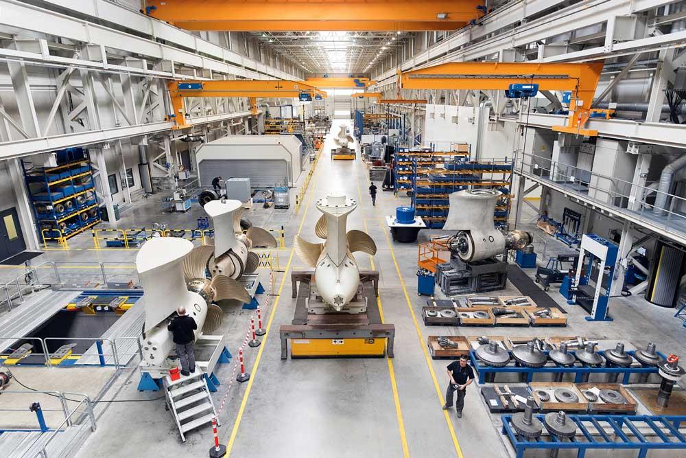 Schottel ist ein Hersteller von Antrieben für Schiffe und Offshore-Anwendungen