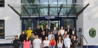 22 Auszubildende haben ihre Tätigkeit bei duisport begonnen