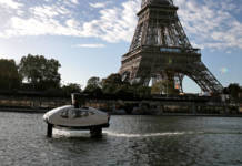Sea Bubble, Paris, Seine, Wassertaxi